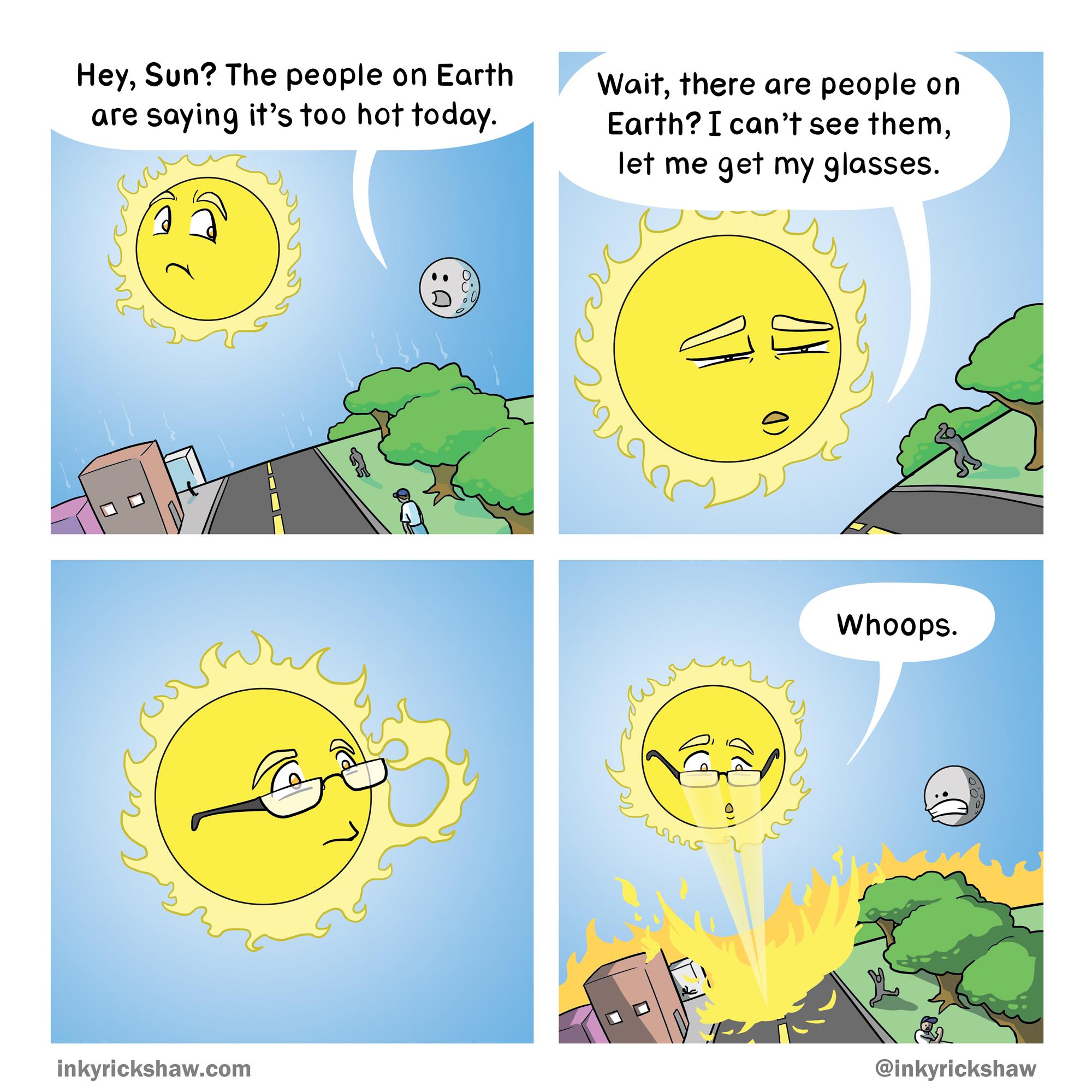"""Alternate title: """"The Sun's Raze"""""""