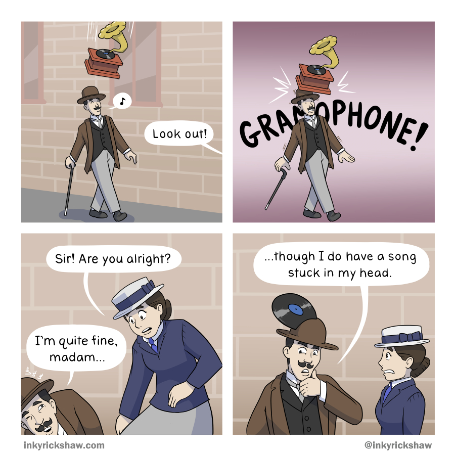 This is why you should never leave your phonograph near an open window.